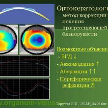 Аккомодация и рефрактогенез